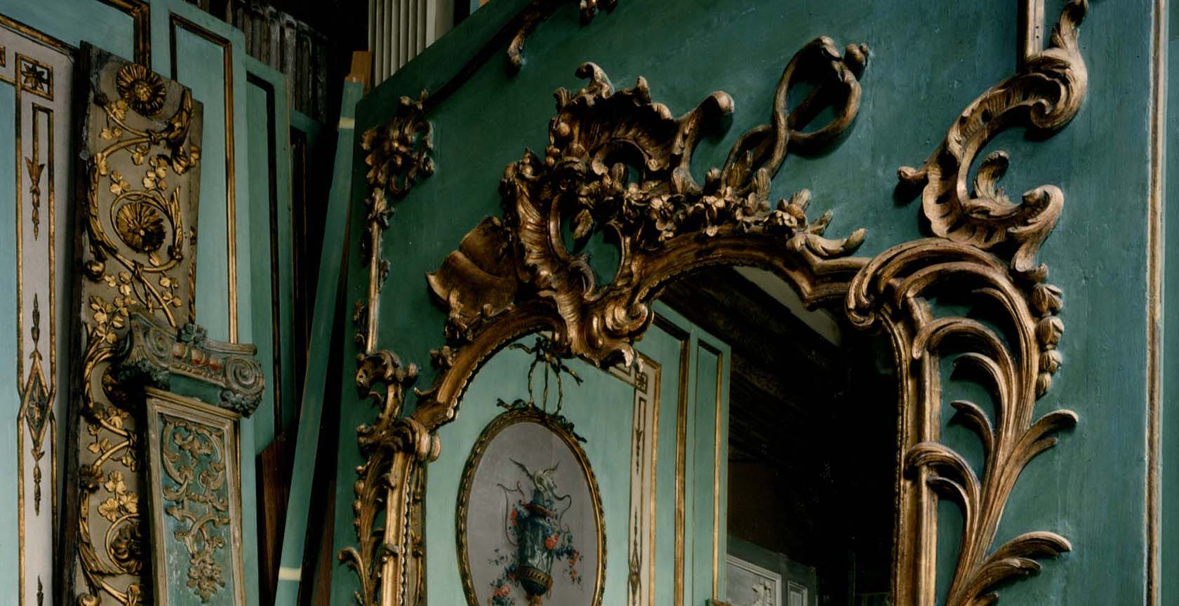 Showroom Féau, collection particulière, inspiration création boiseries historiques
