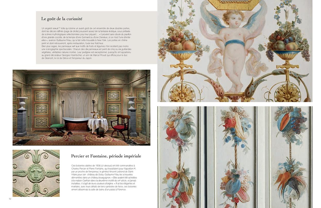 Connaissance des arts - HS n°479 - p. 52 et 53 - Féau Boiseries