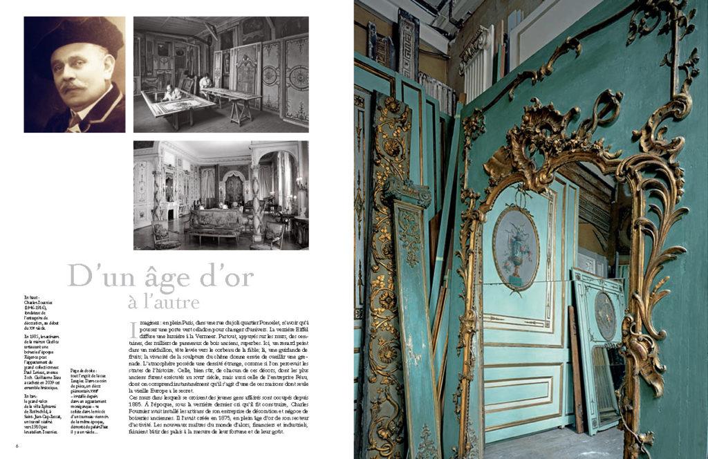 Connaissance des arts - HS n°479 - p. 6 et 7 - Féau Boiseries