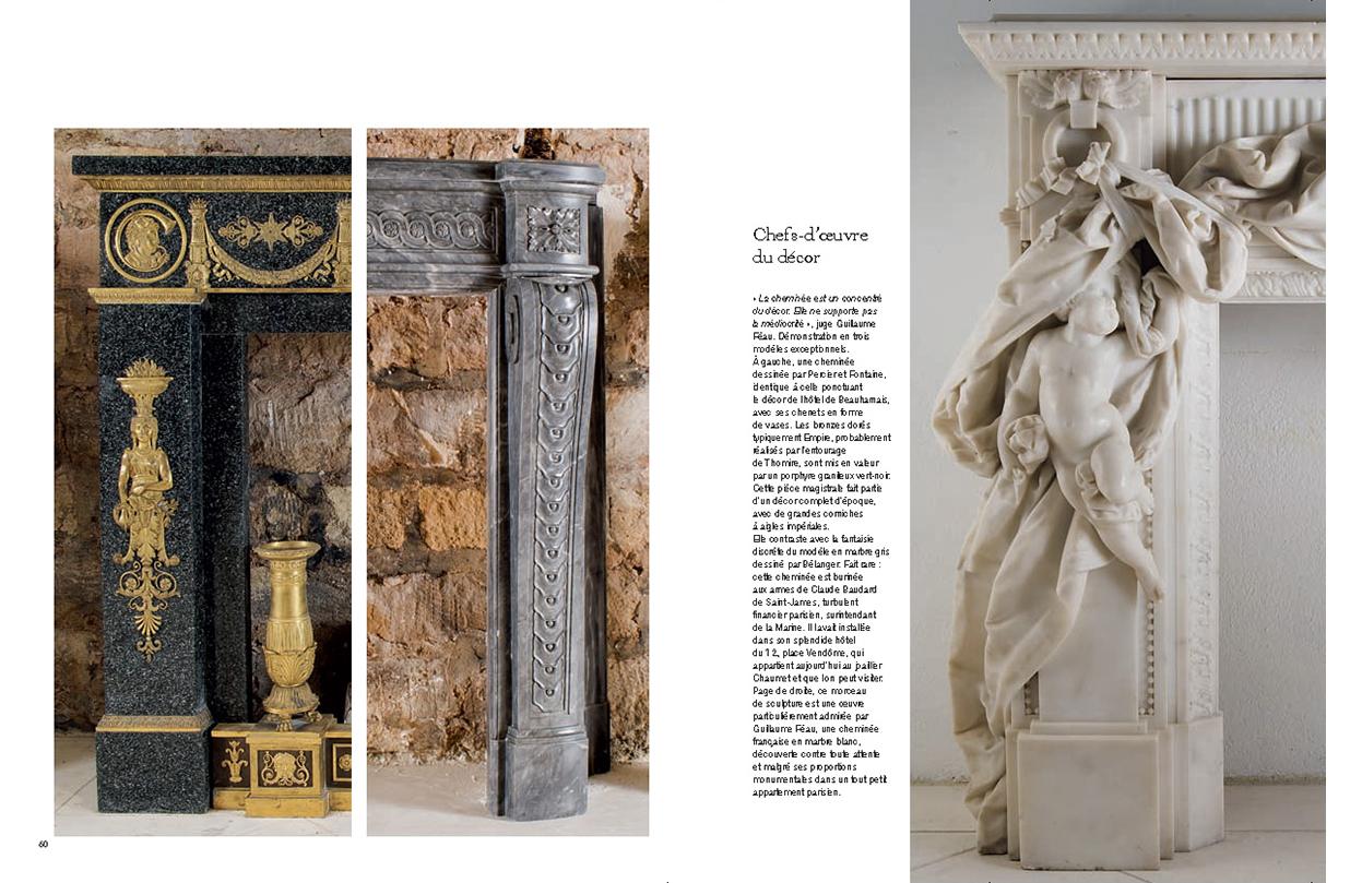 Connaissance des arts - HS n°479 - p. 60 et 61 - Féau Boiseries