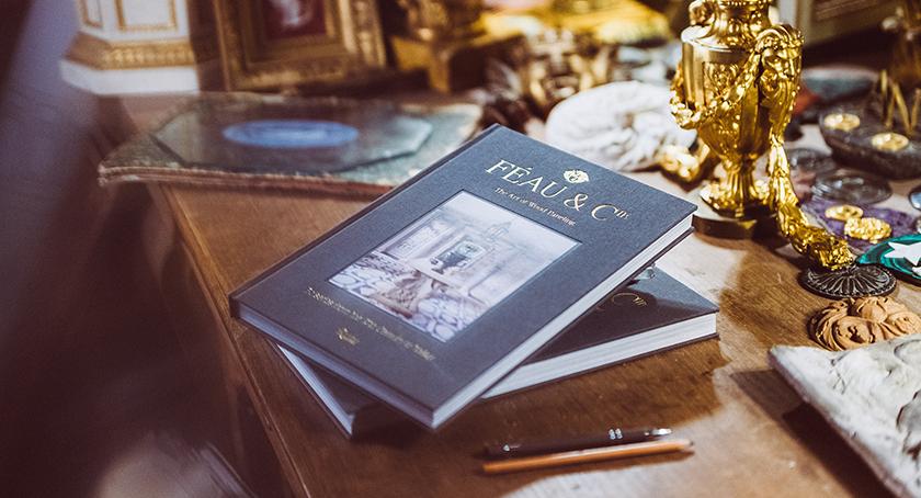 Livre Feau Boiseries, maison d'édition Rizzoli