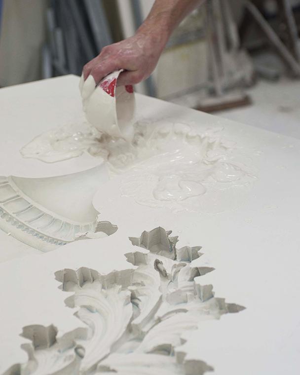 Féau Boiseries plasterwork