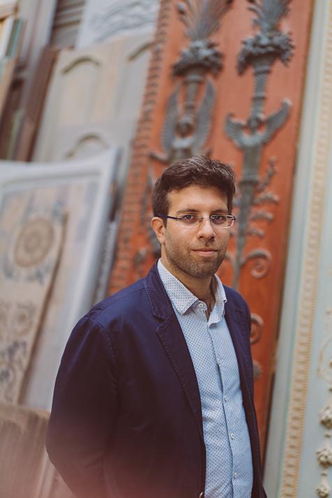 Sylvain Jorge, Directeur du bureau d'études Féau boiseries