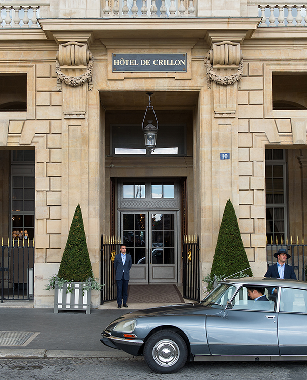 Hotel de Crillon Facade extérieure entree