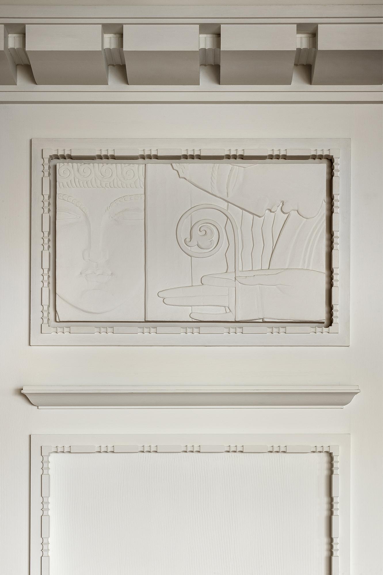 Bas-relief d'inspiration Ruhlmann à Monaco, détail