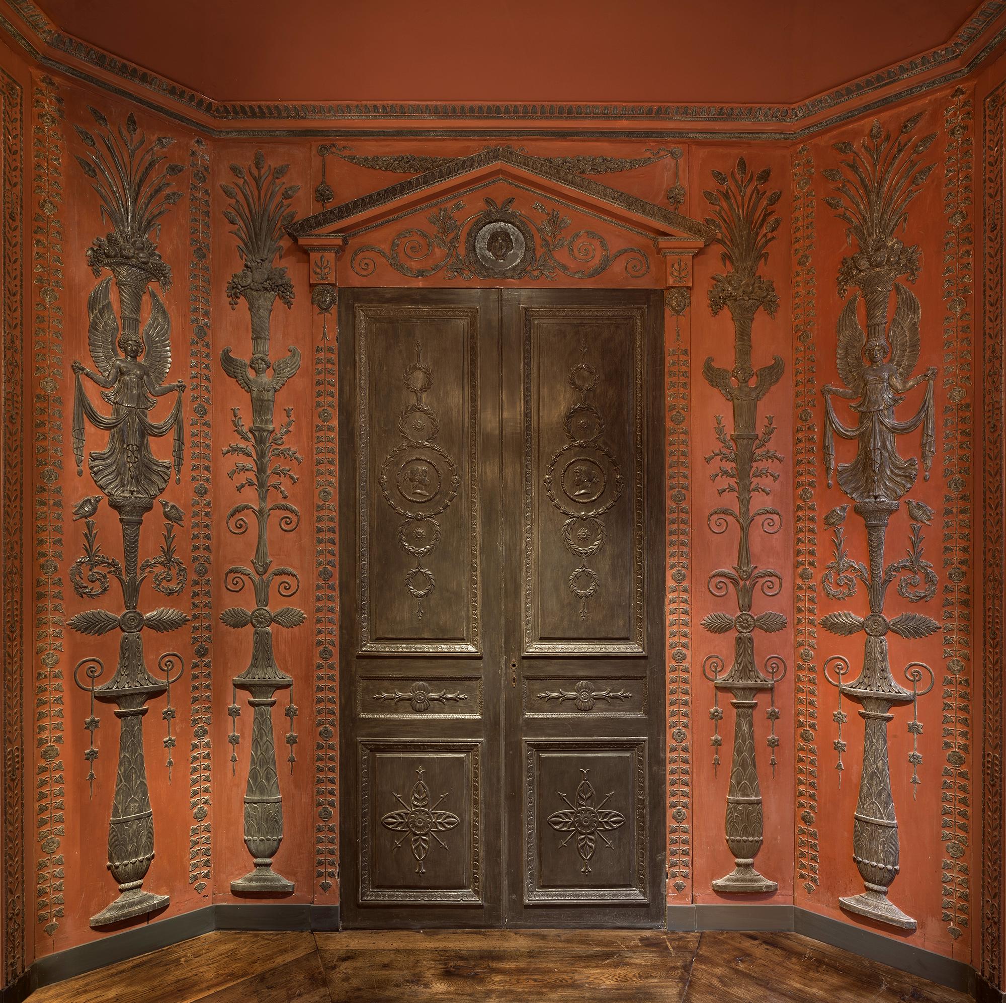 Double porte et panneaux Percier & Fontaine