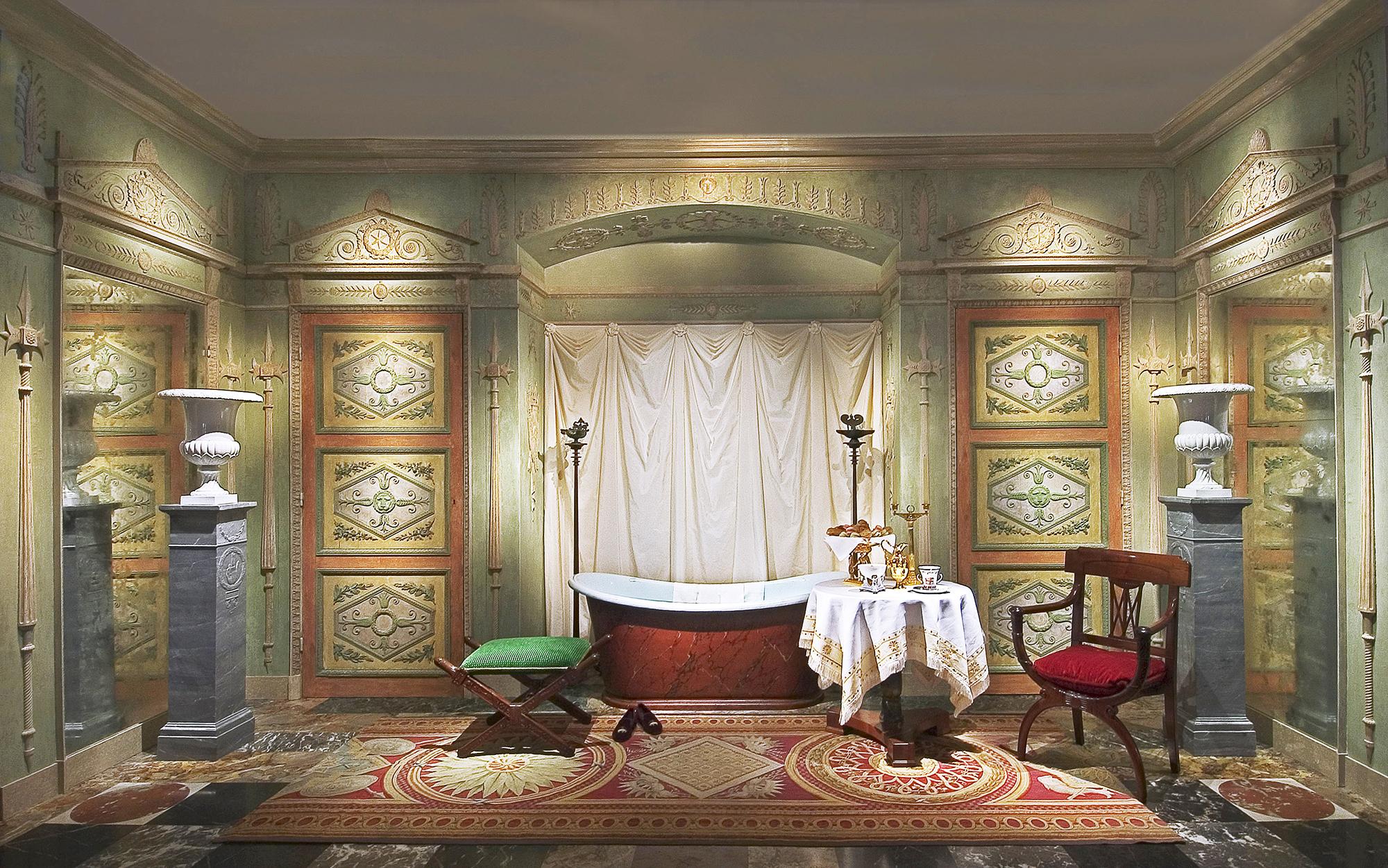 Boiserie Percier & Fontaine, pour un Palais Italien
