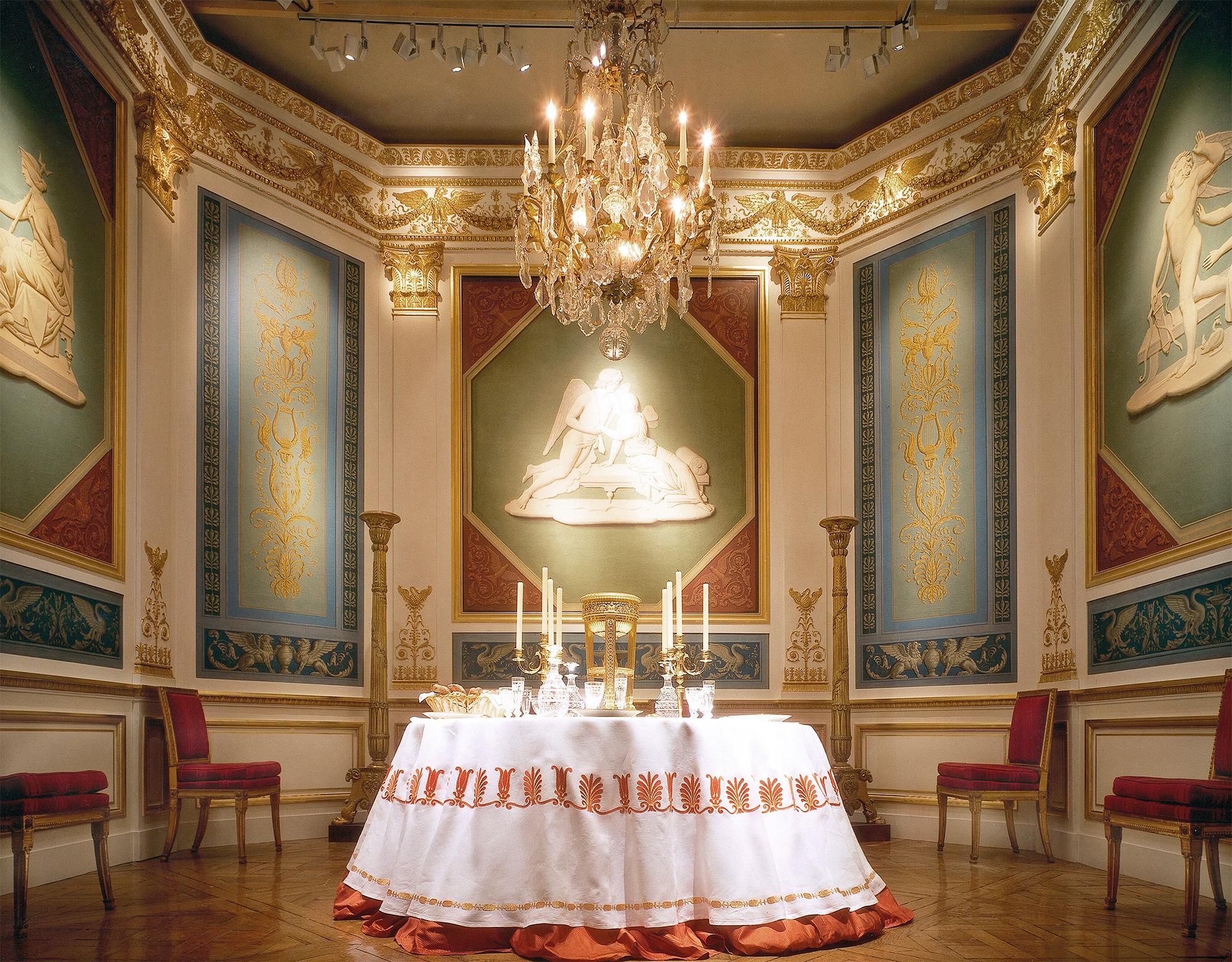 Salle à manger Empire, château Bauschlott