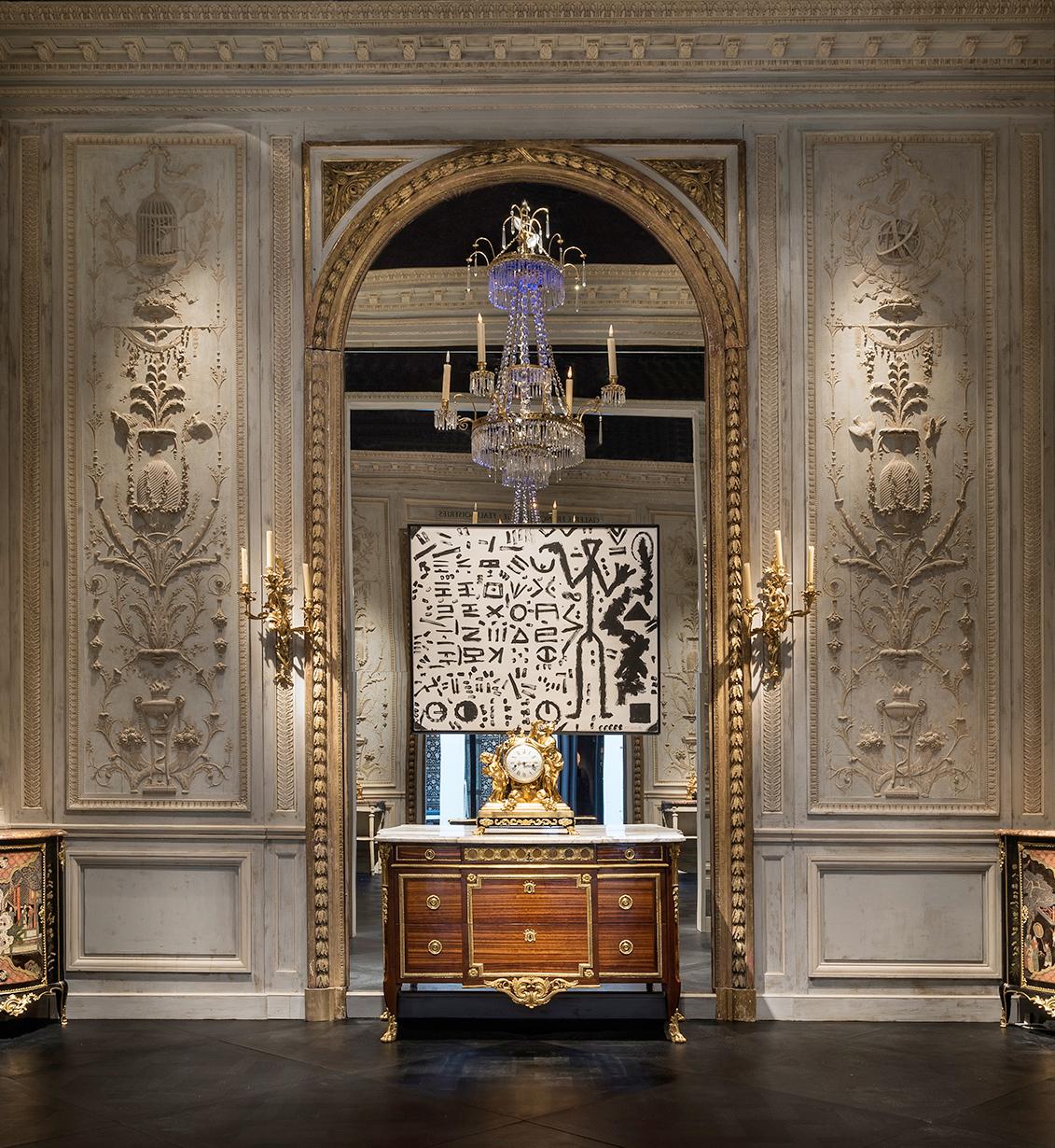 Décor Louis XVI pour un salon particulier parisien
