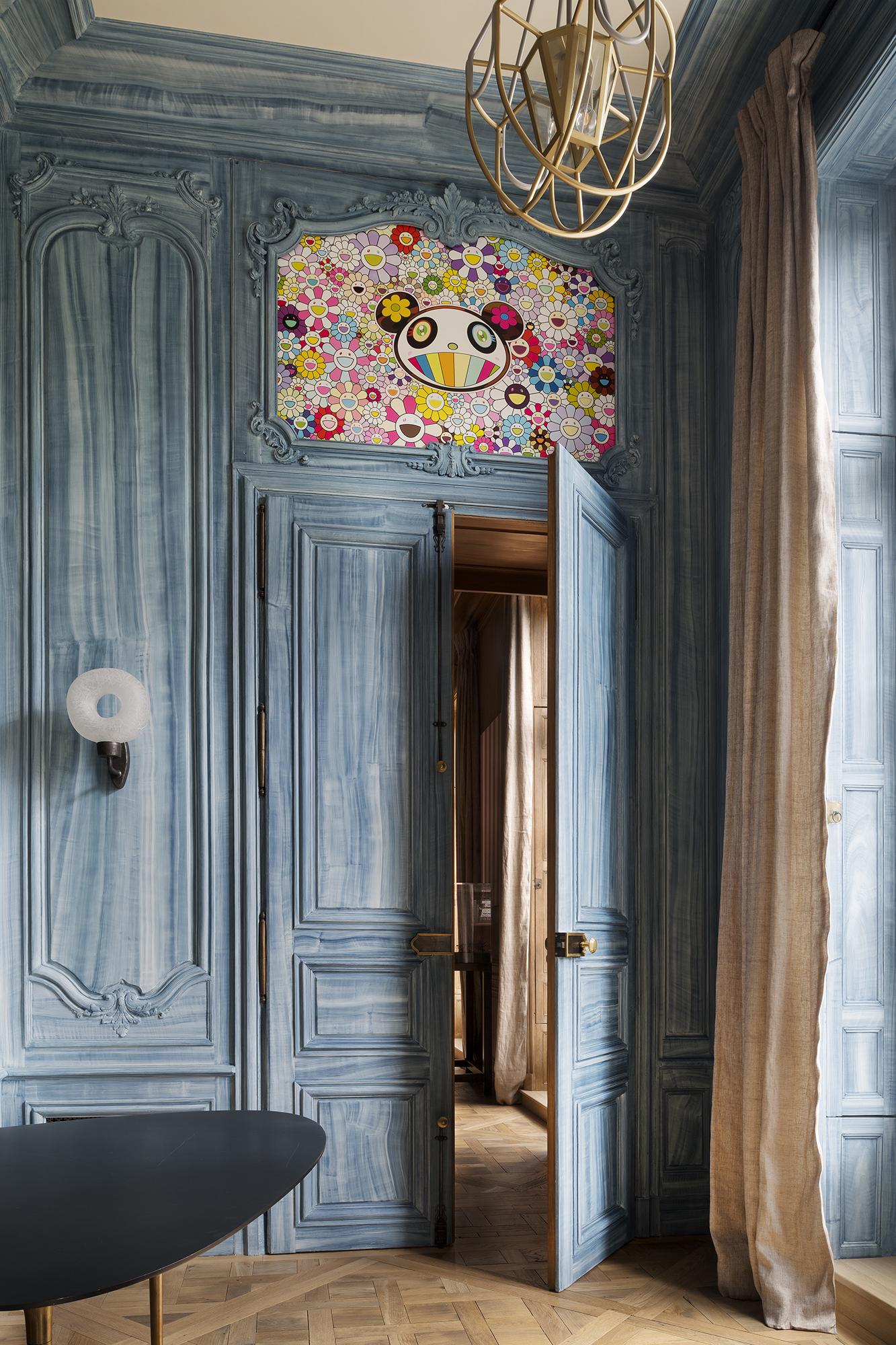 Haute décoration dans un hôtel particulier parisien