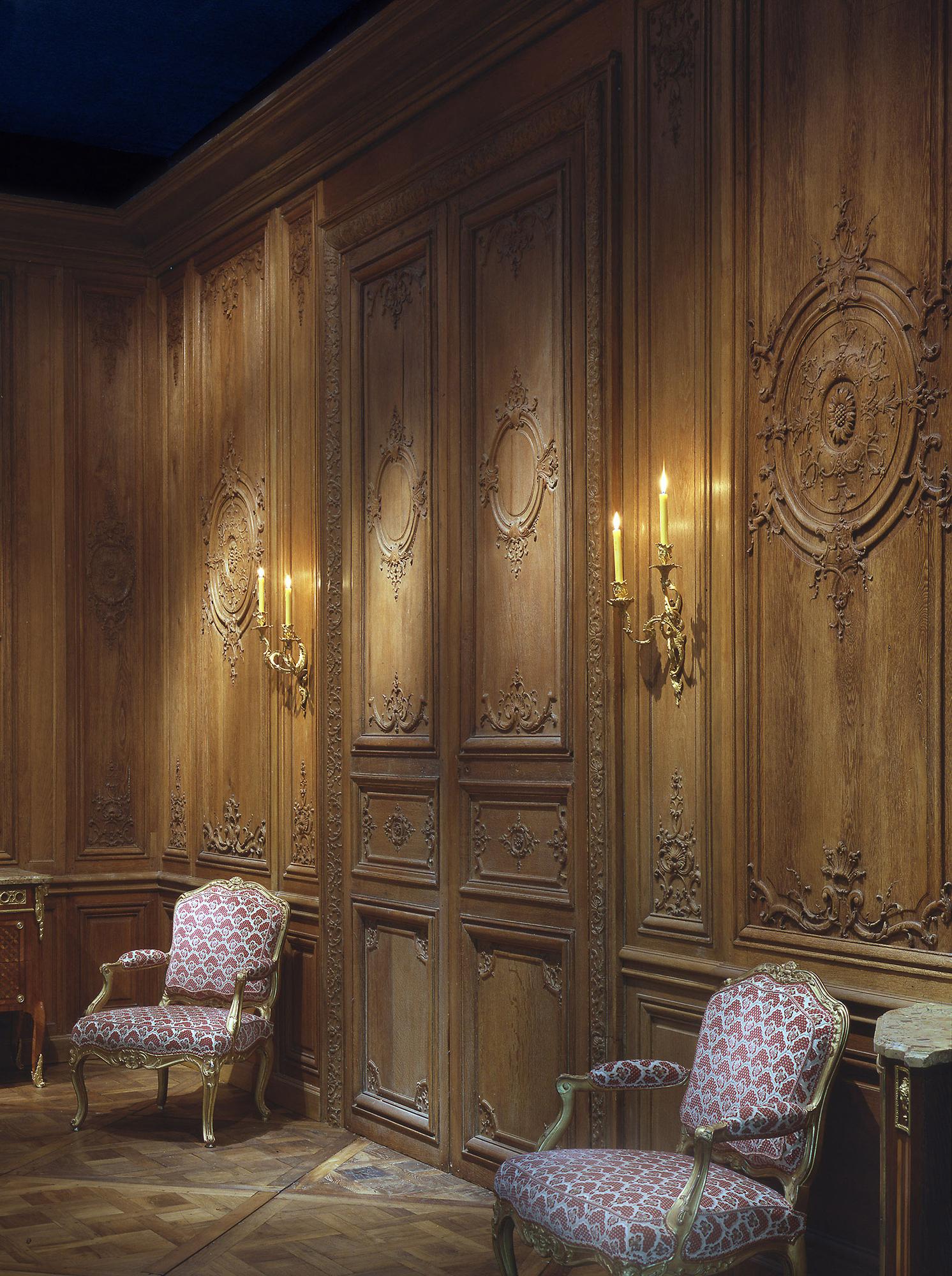 Salon Régence à l'Ancien Chateau de Bercy