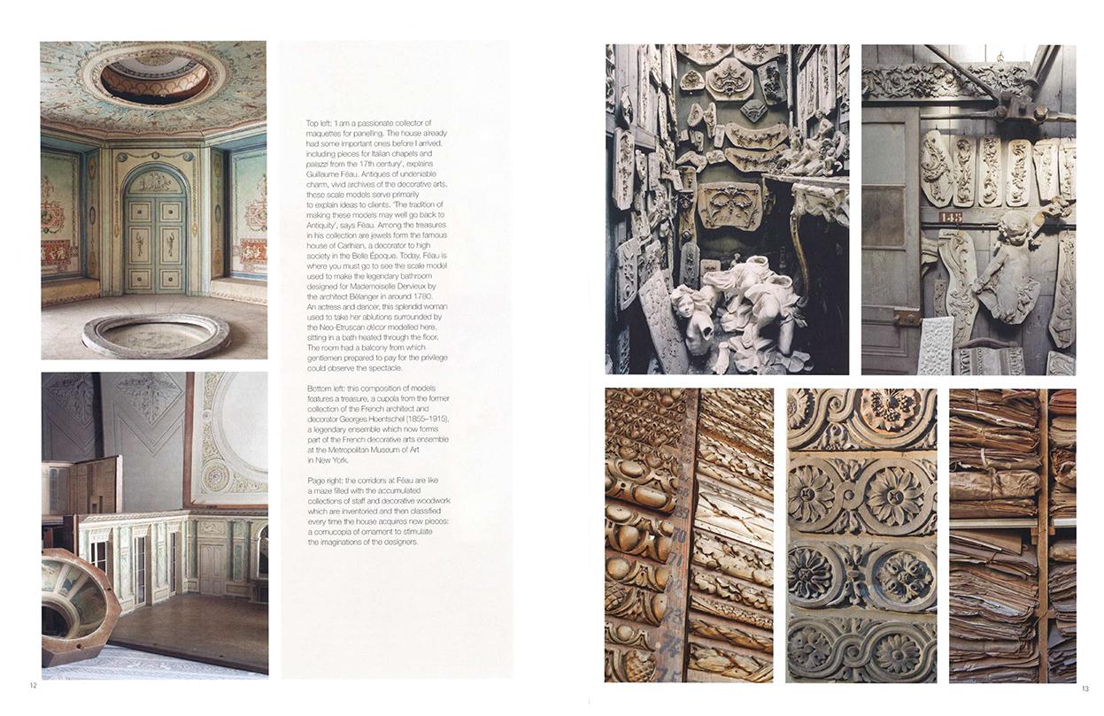 Connaissance des arts - SI n°479 - p. 12 and 13 - Féau Boiseries
