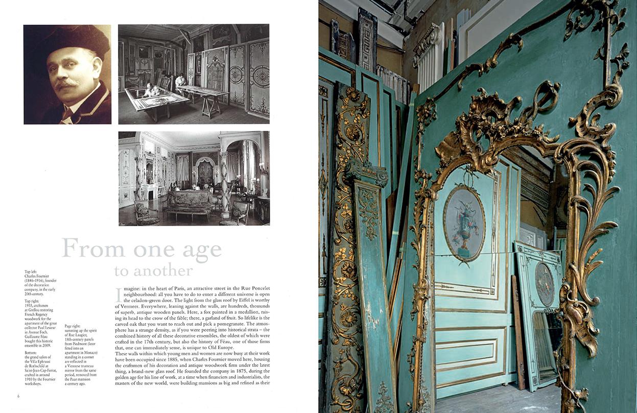 Connaissance des arts - SI n°479 - p. 6 and 7 - Féau Boiseries